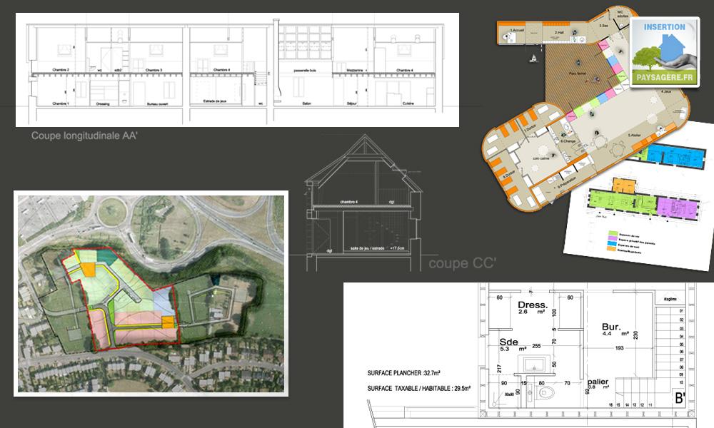 Insertion paysag re fr images plans document - Formulaire permis de construire hangar agricole ...
