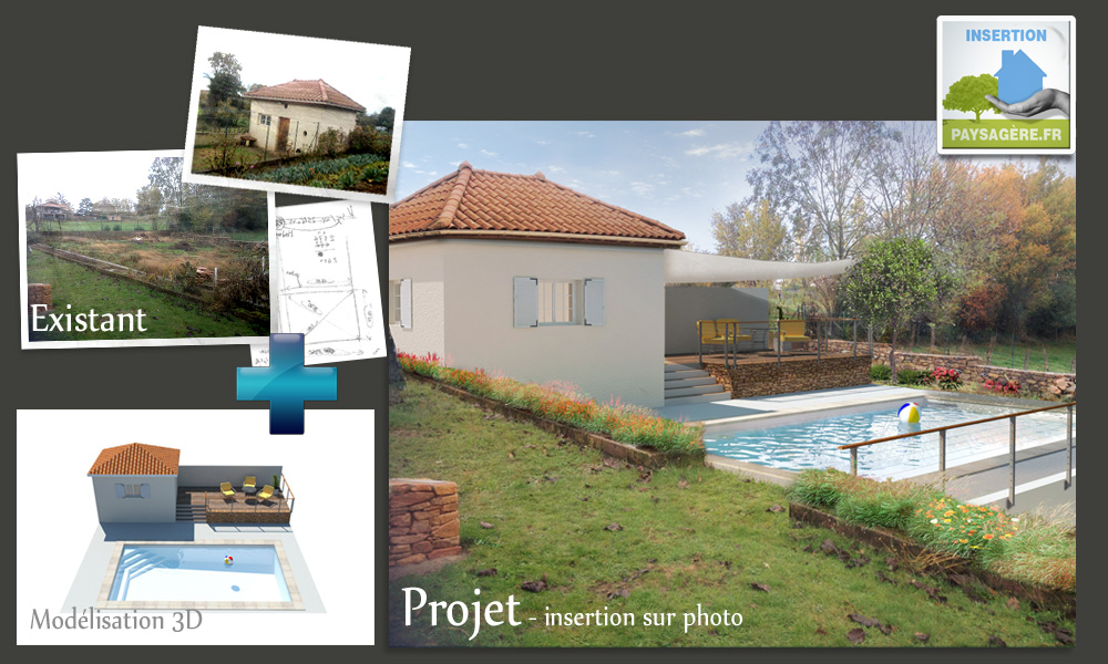 Insertion paysag re fr images plans document for Permis de construire veranda 20 m2